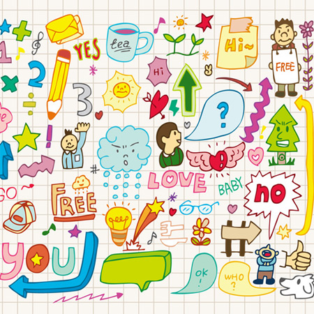 doodle art puzzles and riddles